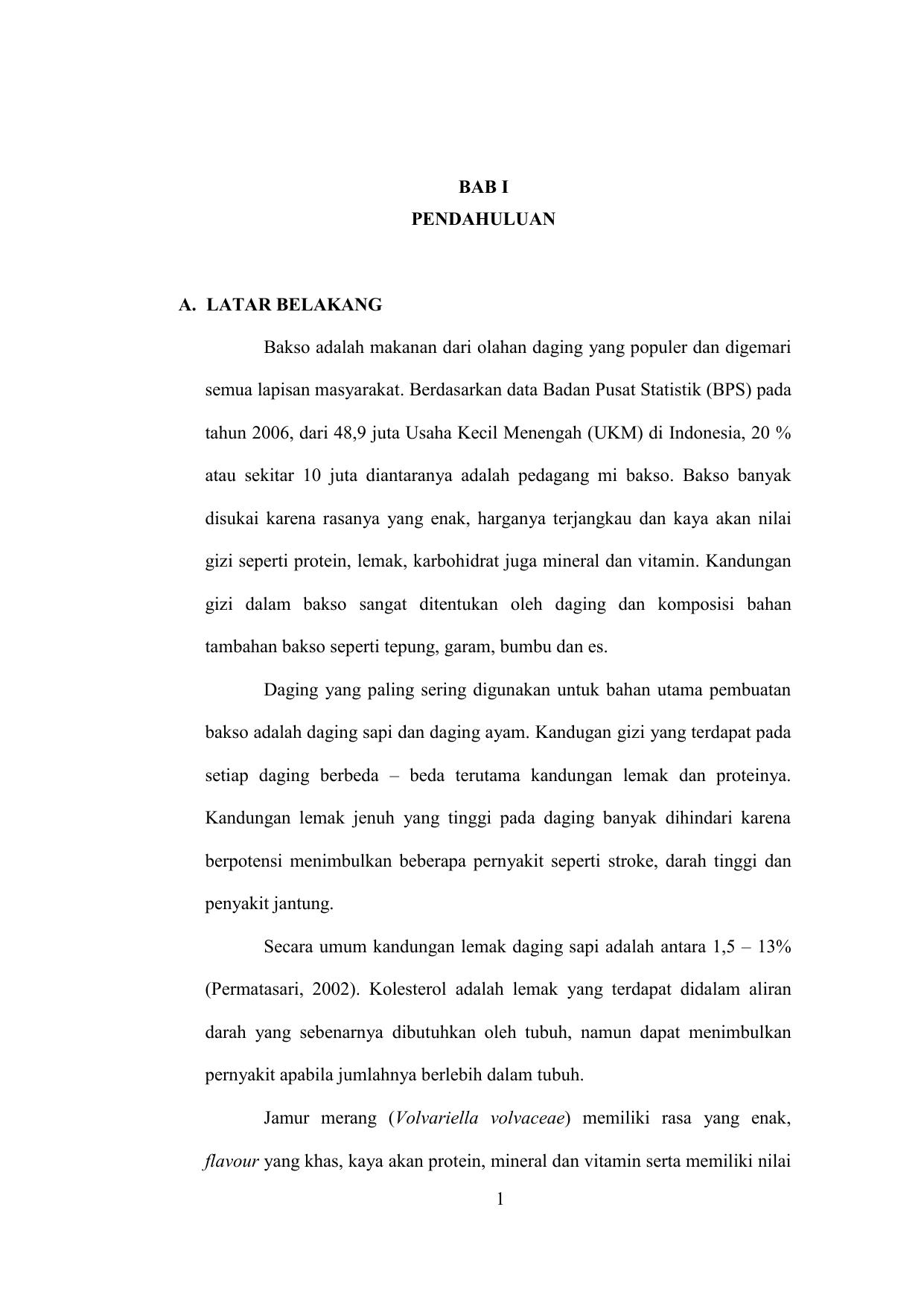 Contoh Bab 1 Pendahuluan Skripsi Ide Judul Skripsi Universitas