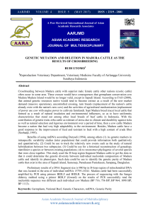 aarjmd - Asian Academic Research Associates