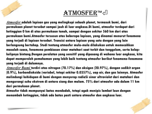 Atmosfer Bumi - WordPress.com