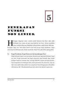 Contoh Soal Dan Jawaban Hiperbola Non Linier