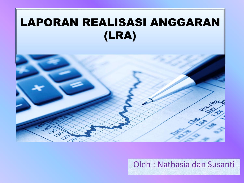 Laporan Realisasi Anggaran