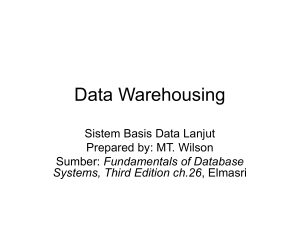02-DataWarehousing