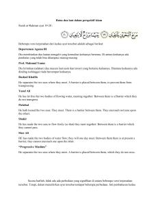 Karakteristik Naskah Terjemahan Al Quran Pegon