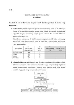 Masalah gizi kurang energi protein tugasakhirdietetikklinik ccuart Image collections