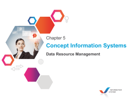 Concept Information Systems Data Resource Management