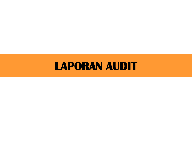 Bentuk Bentuk Laporan Auditor Contoh Redaksi