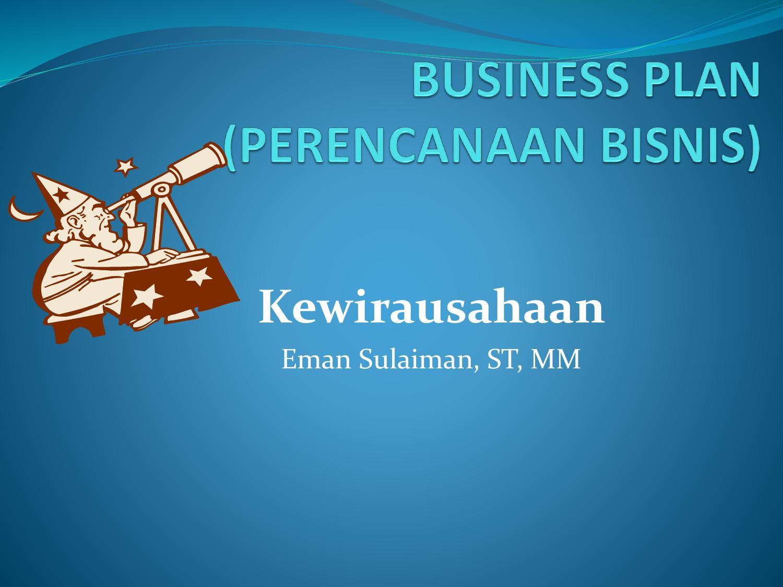 Business Plan Dalam Bentuk Perencanaan Keuangan - Seputar ...