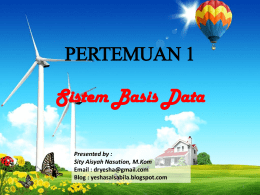 Apa itu Basis Data