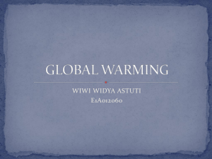 global warming - WordPress.com