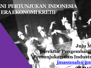 Jambi- EKRAF Performing Arts 6 Juni 2013