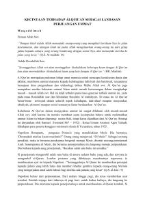 Ulangan Tengah Semester Gasal Madrasah