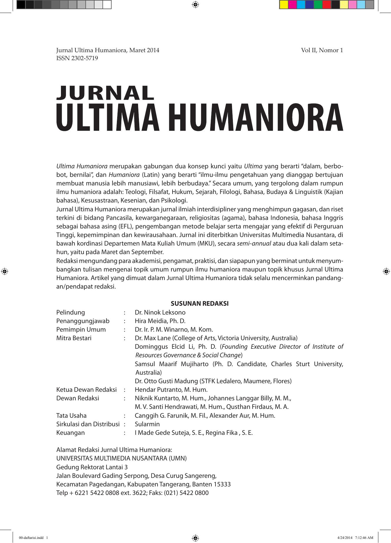 Dan humaniora aifis
