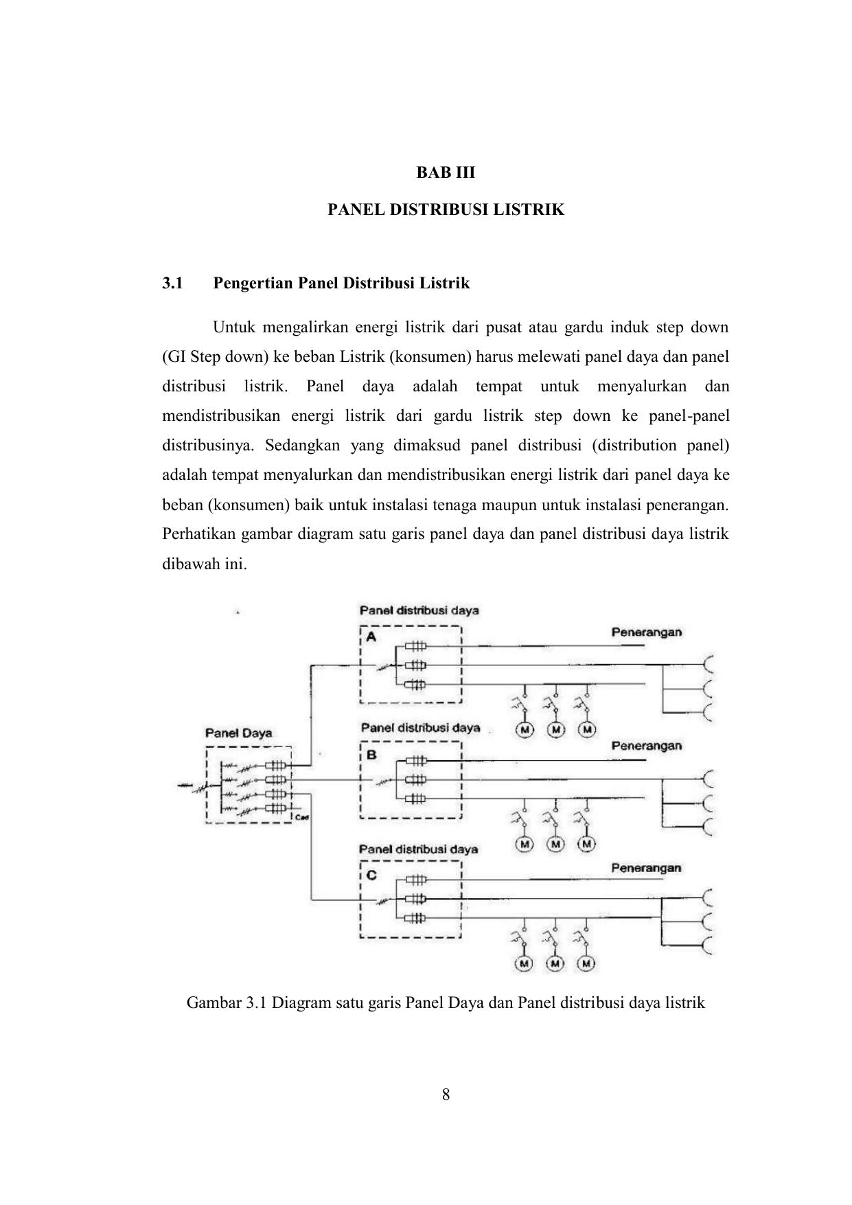 8 bab iii panel distribusi listrik 31 pengertian panel ccuart Images