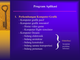 Elemen Komputer Grafik Software hardware Data