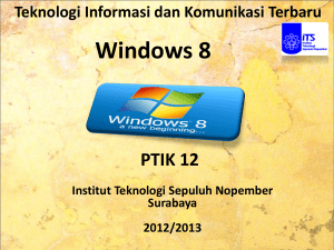 Windows 8 PTIK 12