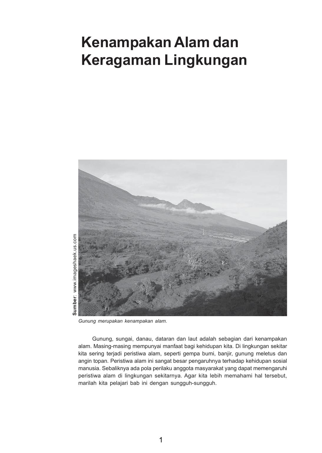 Kenampakan Alam Dan Keragaman Lingkungan