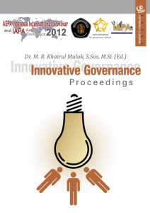 Proceeding INNOVATIVE GOVERNANCE Editor