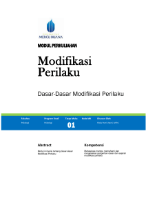 Modul Modifikasi Perilaku [TM1]