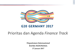 Prioritas dan Agenda Finance Track