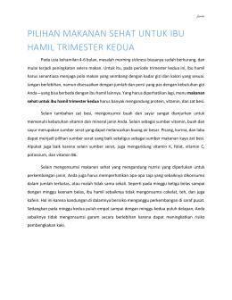 HUBUNGAN KADAR HEMOGLOBIN IBU HAMIL TRIMESTER III DENGAN BERAT