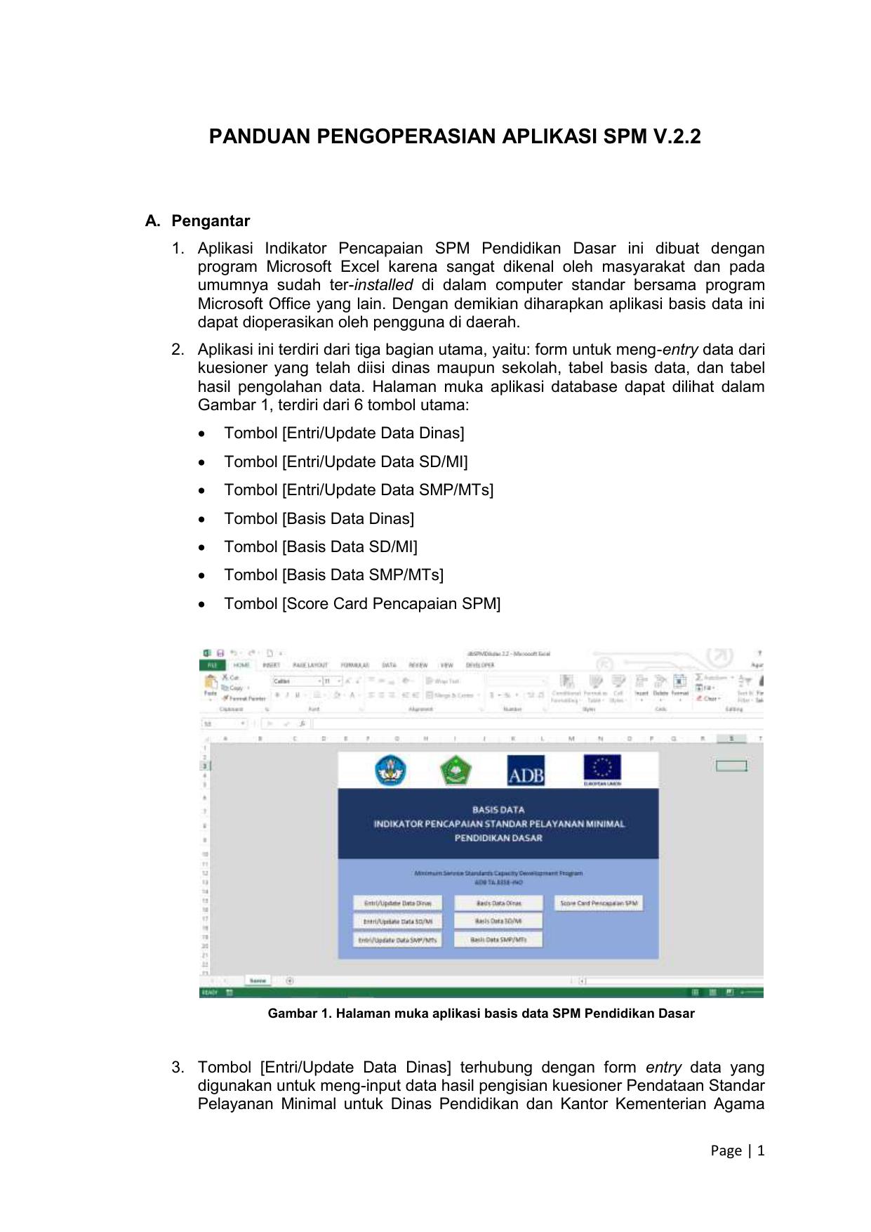 Panduan Pengoperasian Aplikasi Spm V 2 2