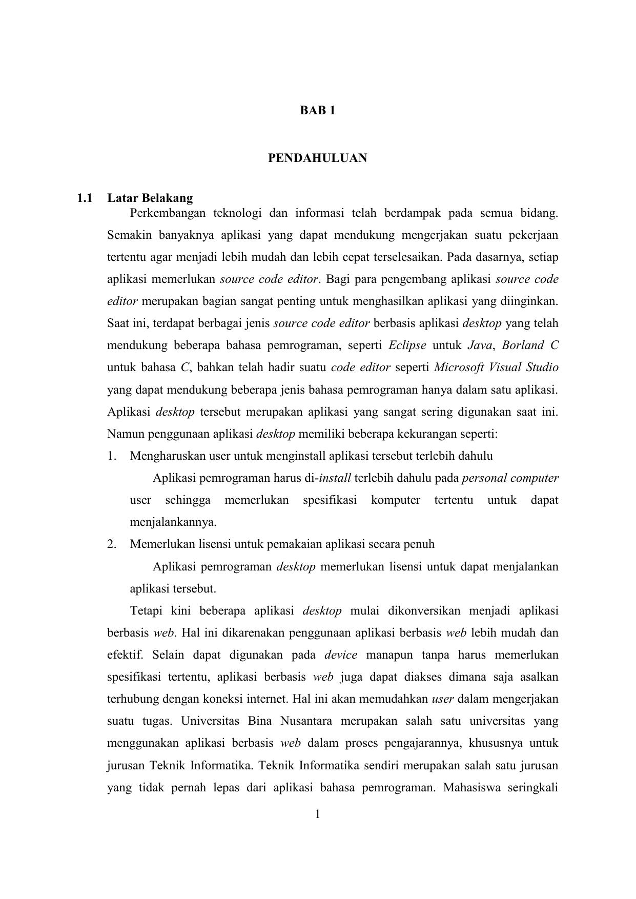 Contoh Proposal Skripsi Binus Pejuang Skripsi
