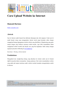 Cara Upload Website ke Internet