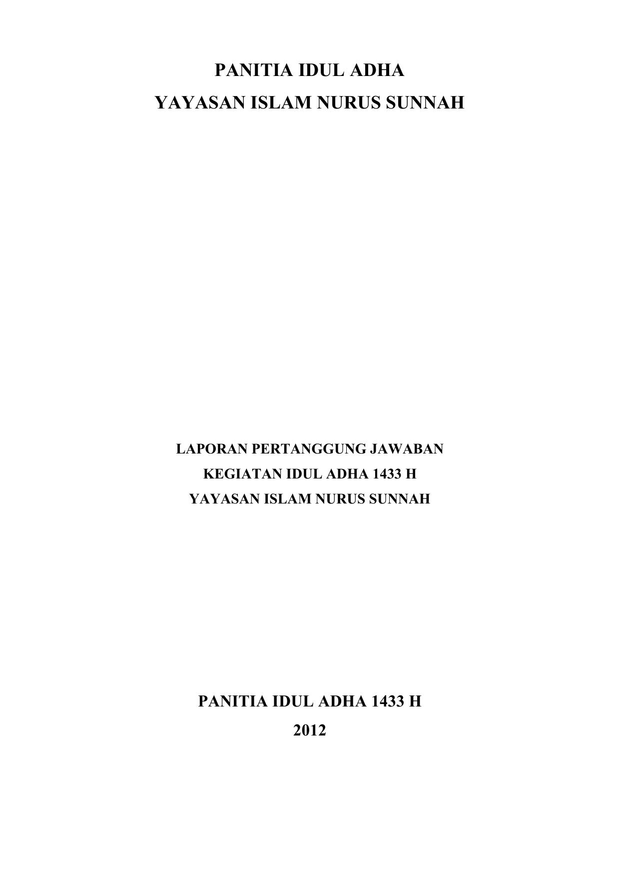 Panitia Idul Adha