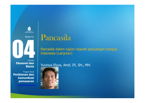 Pancasila - Universitas Mercu Buana