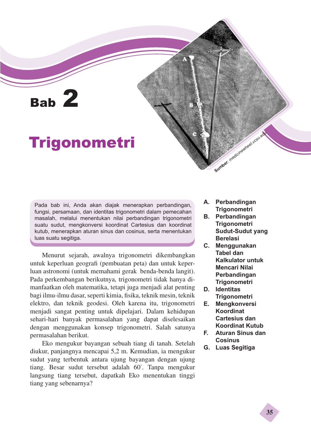 A Perbandingan Trigonometri