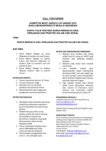 call for papers - UNESCO Office in Jakarta