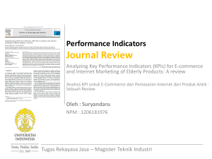Business Process Reengineering (BRP) Journal Review