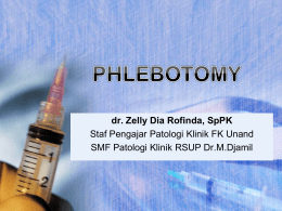 Phlebotomy-dr.Zelly