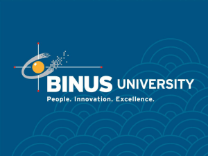 Slide 1 - Binus Repository