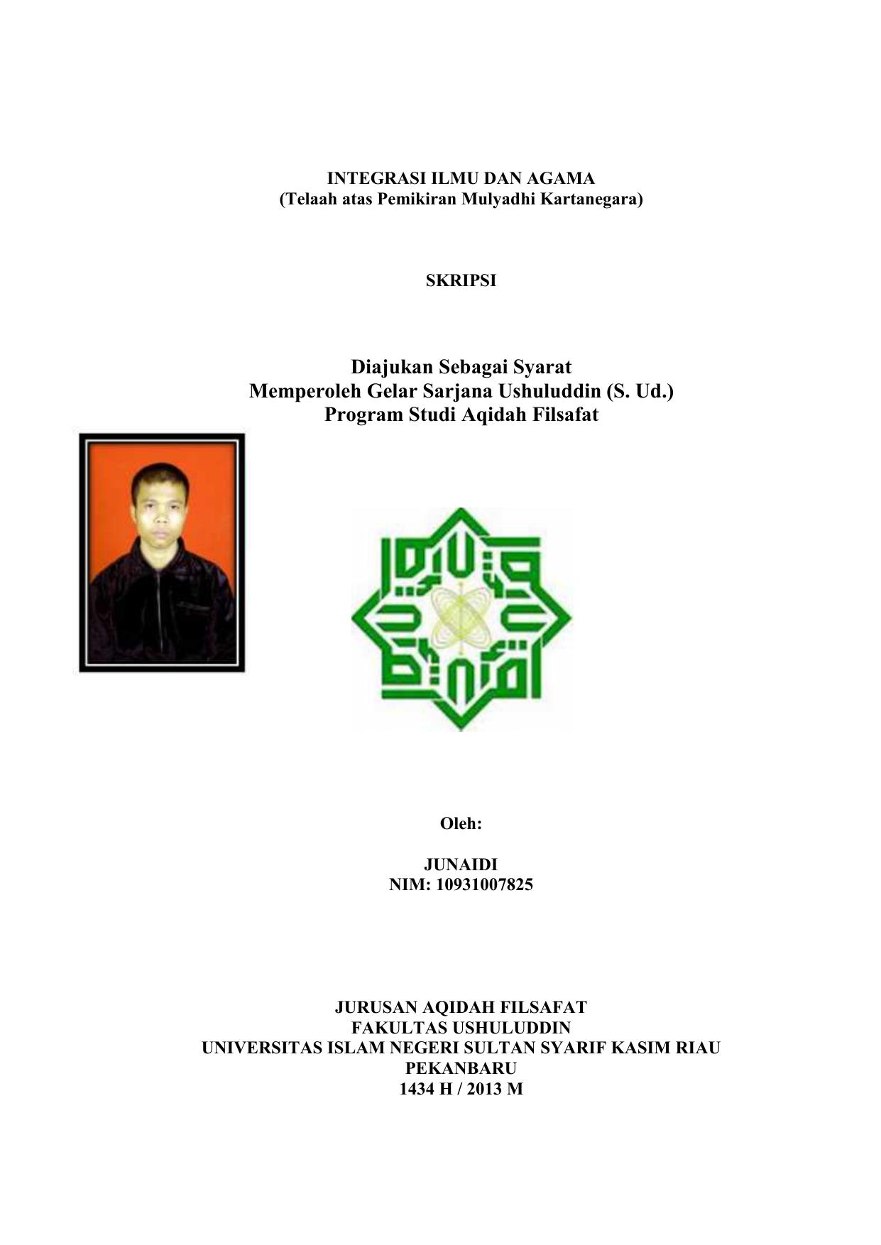 S Ud Program Studi Aqidah Filsafat