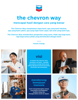 The Chevron Way_Indonesian