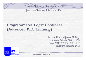 Programmable Logic Controller (Advanced PLC Training)