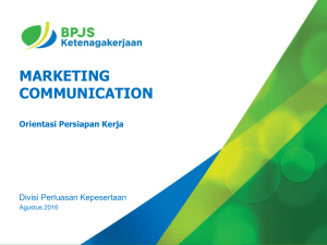 marketing communication - Gelombang 5 BPJS Ketenagakerjaan