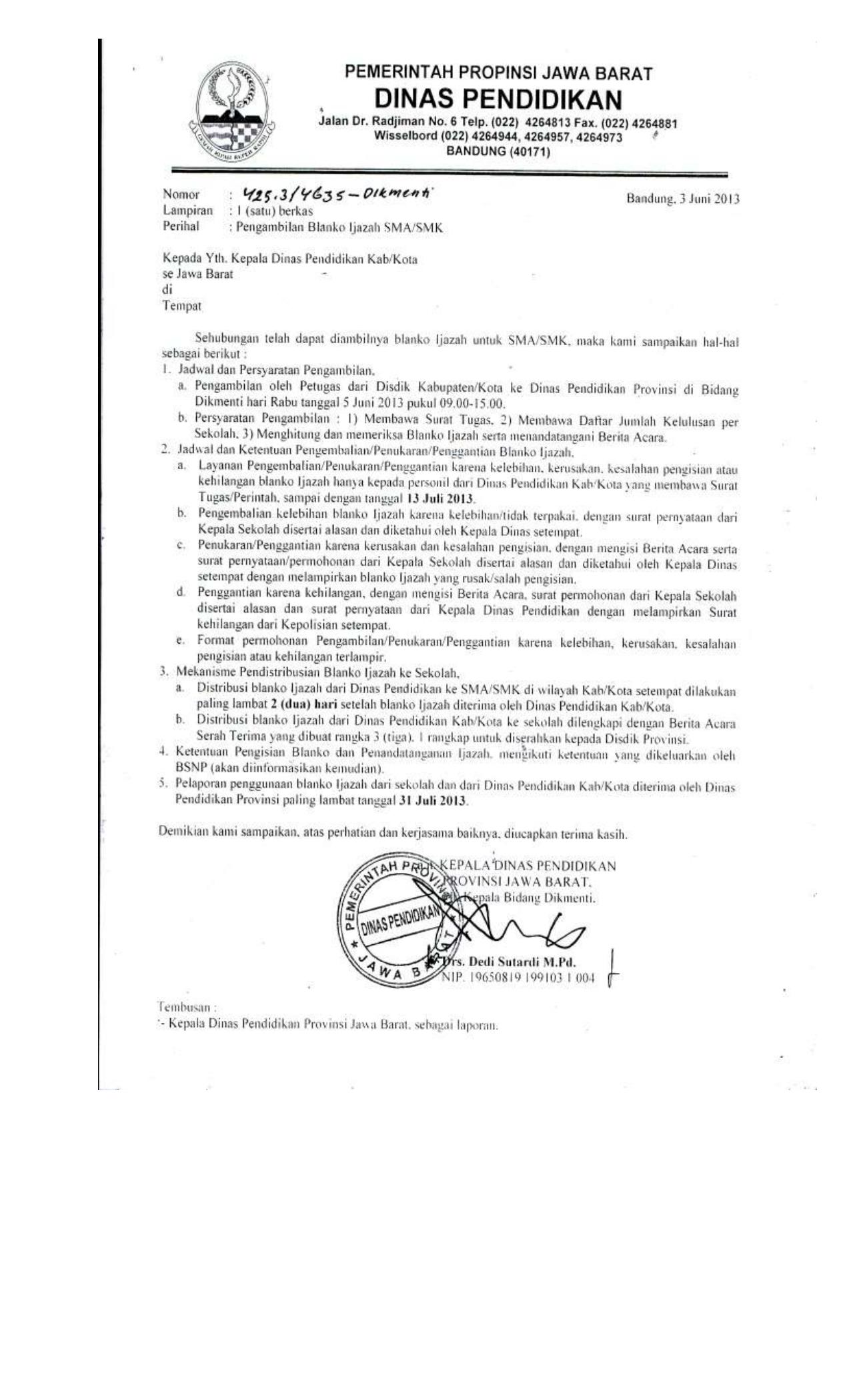 Dinas Pendidikan Kabupaten Cirebon