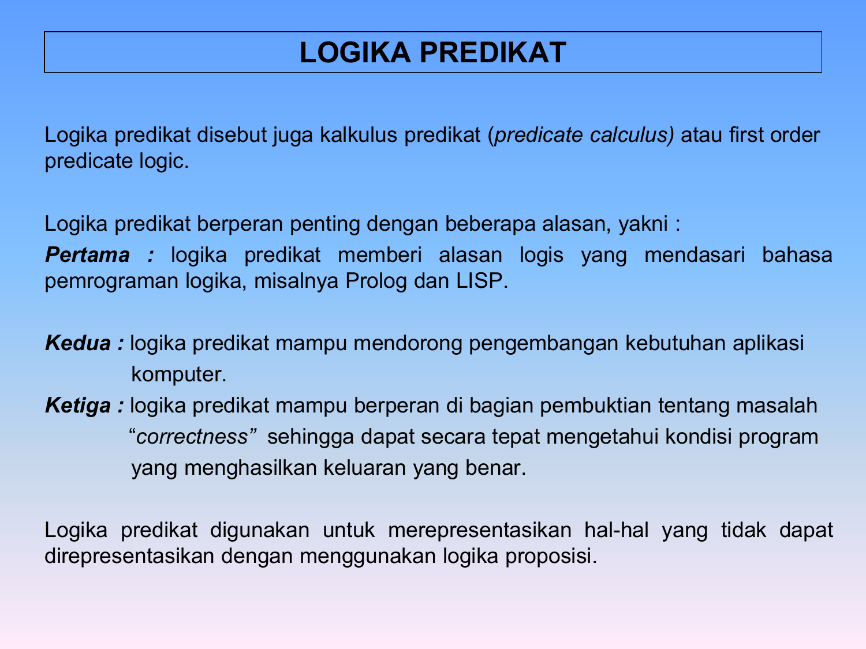 logika predikat