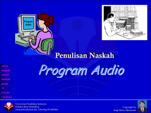 Program Audio