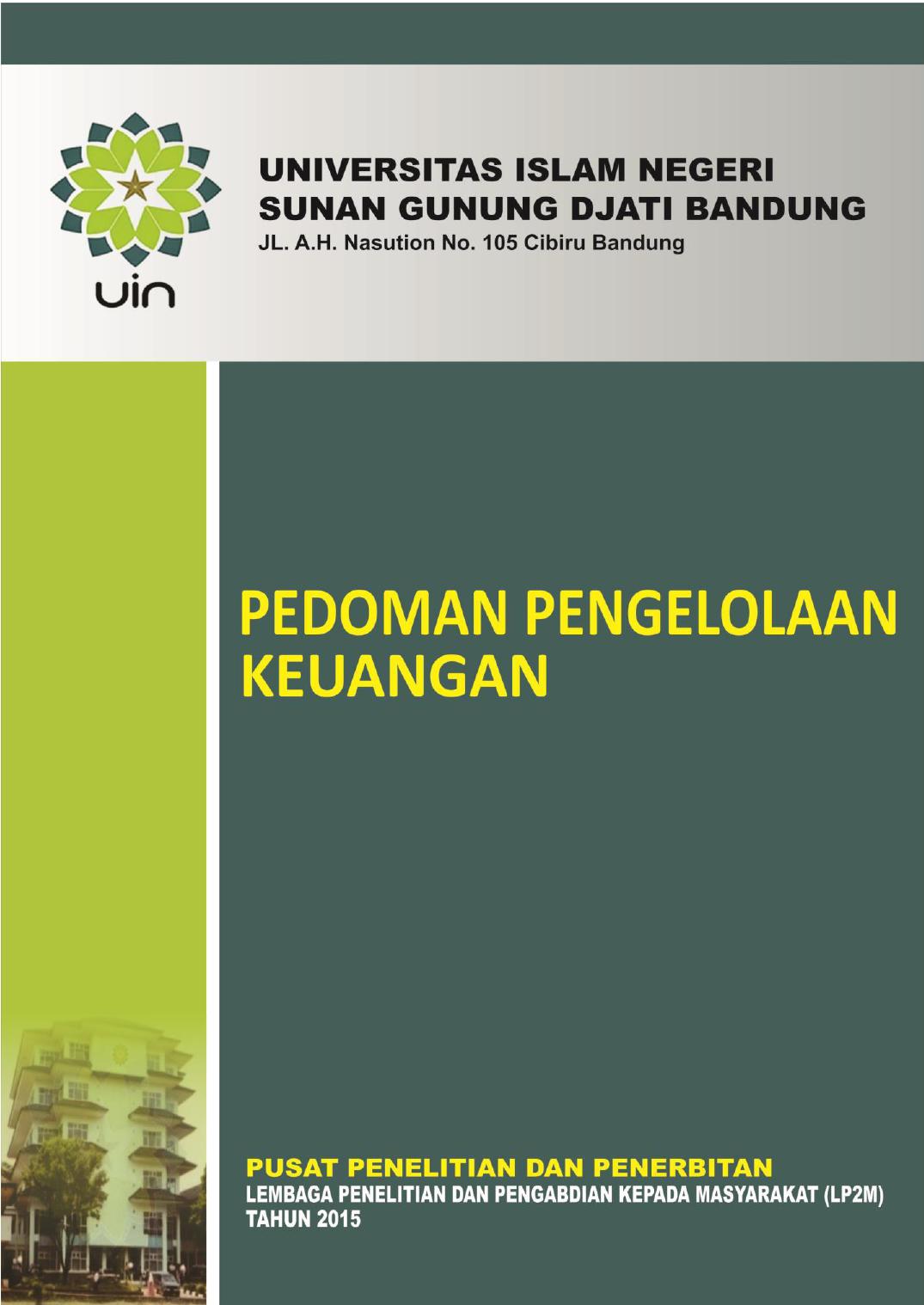 Pedoman Keuangan Penelitian