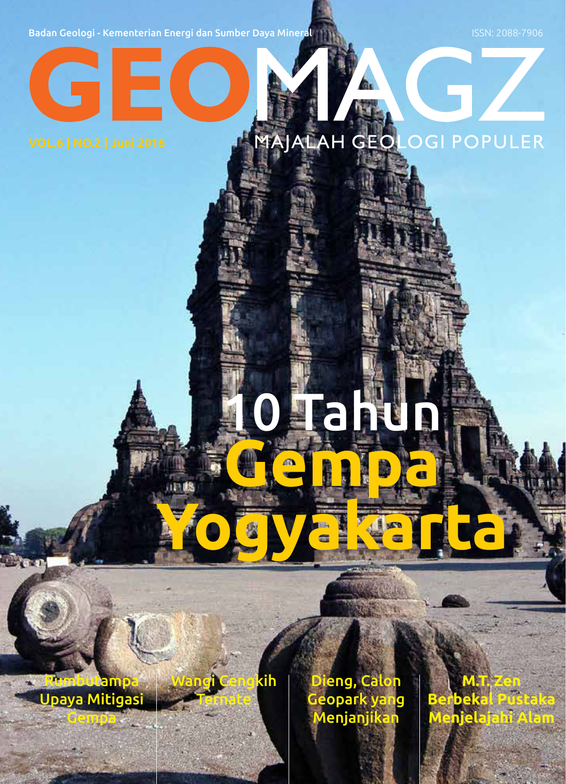 Gempa Yogyakarta Geomagz