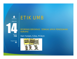 ETIK UMB - Universitas Mercu Buana