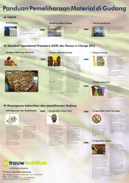 Poster Warehouse.indd - Trouw Nutrition Indonesia