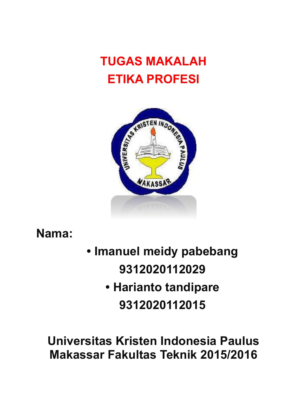 Kode Etik Guru Di Indonesia