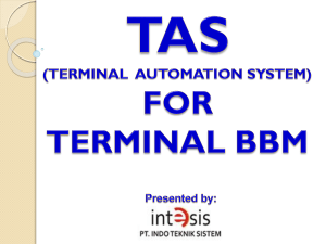 TAS (TERMINAL AUTOMATION SYSTEM)