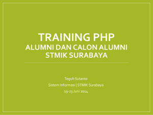 HTML Attributes - stikom career center surabaya
