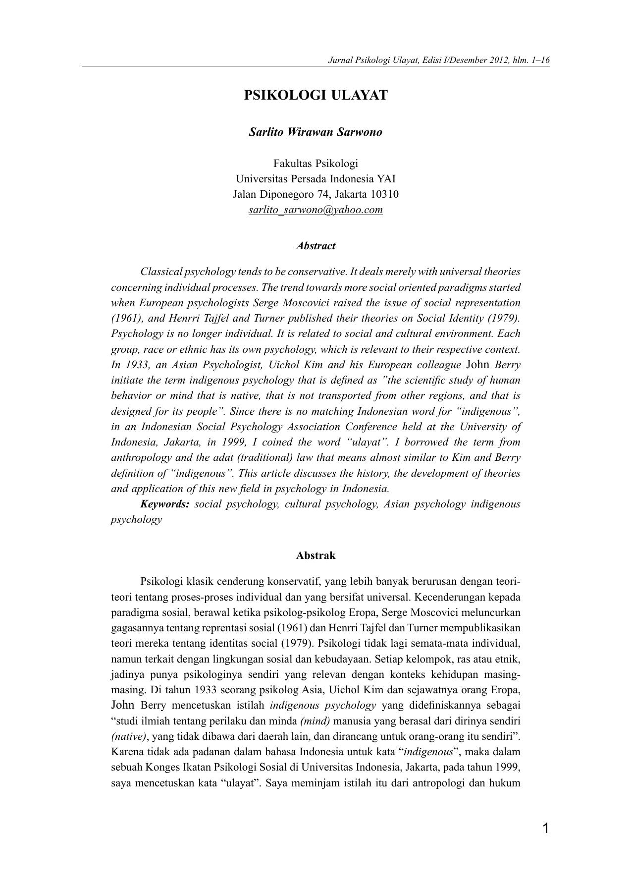 Essays on cultural clash