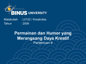 Title Goes Here - Binus Repository